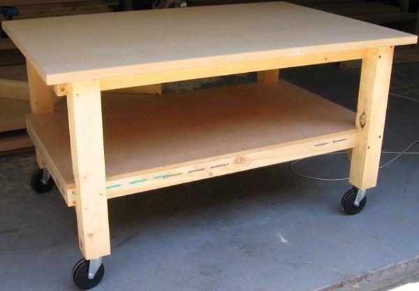Steel Potting Bench