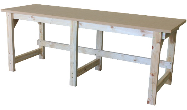 A 900mm High Work Bench With No Shelf